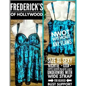 Frederick's of Hollywood Intimate Size XL NWOT